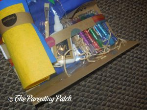 Materials in Seedling Design Your Own Superhero Cape
