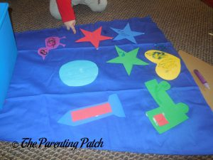 Working on the Seedling Design Your Own Superhero Cape