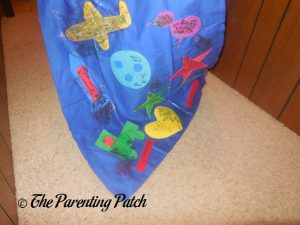 Finished Cape from Seedling Design Your Own Superhero Cape