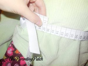 Measuring for the Seedling Create Your Own Ice Princess Tutu