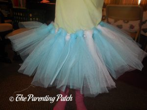 Undecorated Skirt of Seedling Create Your Own Ice Princess Tutu