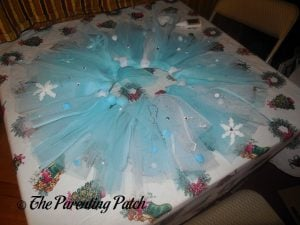 Finishing the Seedling Create Your Own Ice Princess Tutu