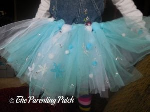 Finished Tutu from Seedling Create Your Own Ice Princess Tutu