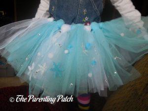 Finished Tutu from Seedling Create Your Own Ice Princess Tutu
