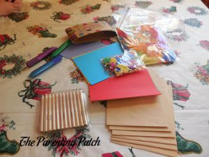 Materials in Seedling Creative Cardmaking Kit