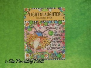 Cover of Light & Laughter Coloring Book