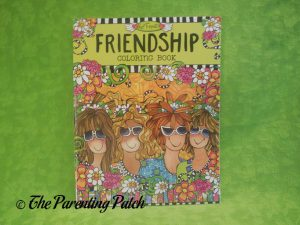 Cover of Friendship Coloring Book
