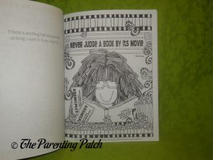 Page of Friendship Coloring Book