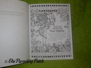 Page of Color Sisterhood Coloring Book