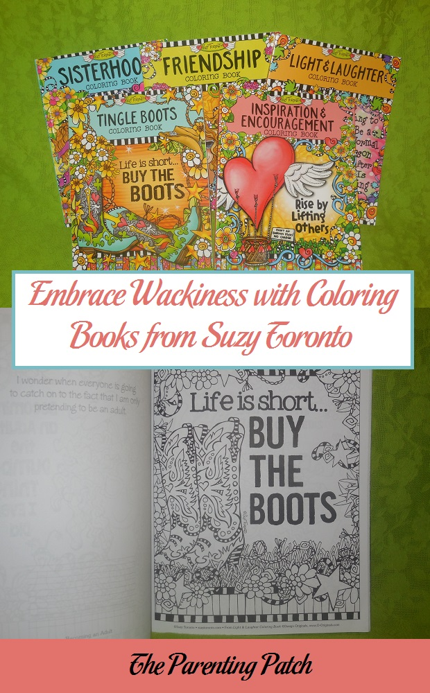 Embrace Wackiness with Coloring Books from Suzy Toronto
