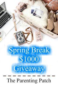 Spring Break $500 Giveaway