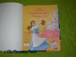 Cover Page of 'Dream Big, Princess: Belle's Special Edition'