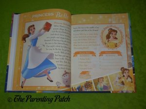 Inside Pages of 'Dream Big, Princess: Belle's Special Edition' 1