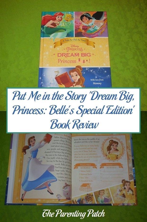 Put Me in the Story 'Dream Big, Princess: Belle's Special Edition' Book Review