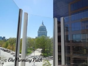 View of the Capitol from the Madison Children's Museum