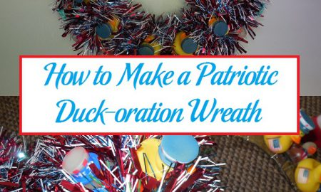 How to Make a Patriotic Duck-oration Wreath