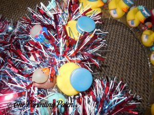 Garland for the Patriotic Duck-oration Wreath
