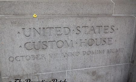 The Duck and the Alexander Hamilton U.S. Custom House