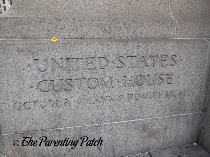 The Duck and the Alexander Hamilton U.S. Custom House