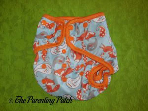 Front of Snap ecoAble Cloth Diaper Cover