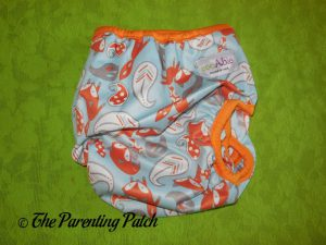 Back of Snap ecoAble Cloth Diaper Cover