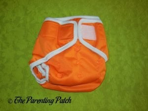 Front of Hook-and-Loop ecoAble Cloth Diaper Cover