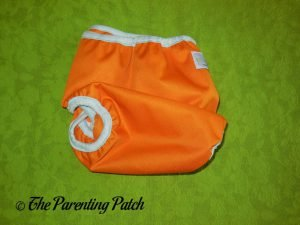 Back of Hook-and-Loop ecoAble Cloth Diaper Cover