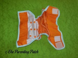 Interior of Hook-and-Loop ecoAble Cloth Diaper Cover