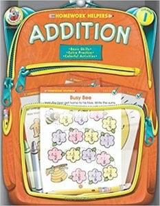 Addition, Grade 1 (Homework Helper)