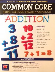 Common Core Addition First and Second Grade Workbook