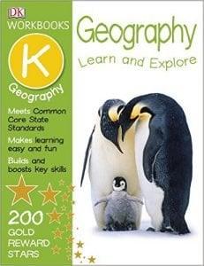 DK Workbooks Geography, Kindergarten