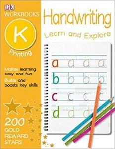 DK Workbooks Handwriting Printing, Kindergarten