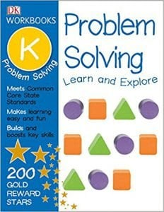DK Workbooks Problem Solving, Kindergarten