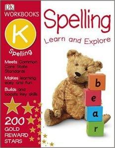 DK Workbooks Spelling, Kindergarten