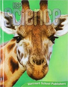Harcourt Science Grade 1 Textbook