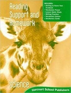 Harcourt Science Grade 1 Workbook