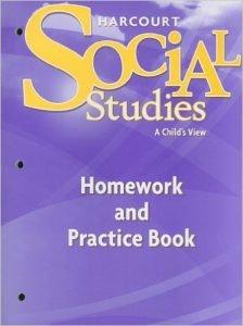 Harcourt Social Studies Grade 1 A Child's View Workbook