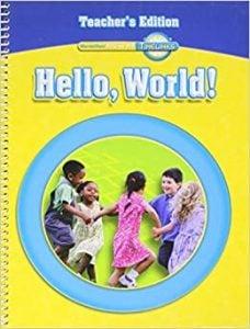Hello, World! Textbook, Grade K