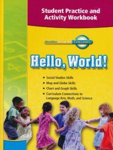 Hello, World! Workbook, Grade K