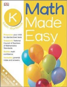 Math Made Easy Kindergarten Workbook