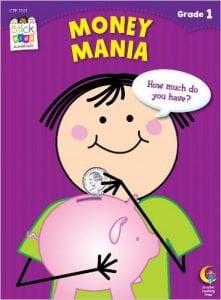 Money Mania Stick Kids Workbook, Grade 1