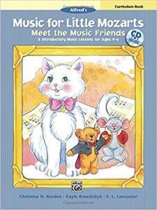 Music for Little Mozarts Meet the Music Friends Curriculum Book