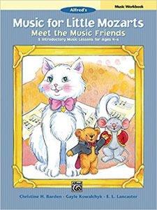Music for Little Mozarts Meet the Music Friends Workbook