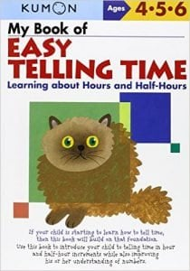 My Book of Easy Telling Time Learning about Hours and Half-Hours
