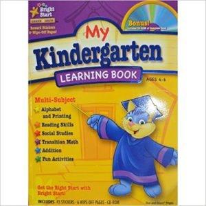 My Kindergarten Learning Book