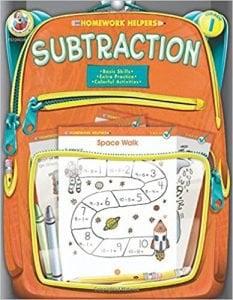 Subtraction, Grade 1 (Homework Helper)