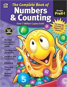 The Complete Book of Numbers & Counting, Grades PK-1