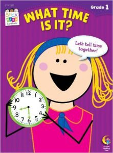 What Time Is It Stick Kids Workbook, Grade 1
