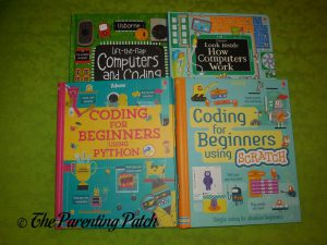 Computers and Coding from Usborne Books