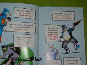Inside Pages of 'The Official DC Super Hero Joke Book' 1